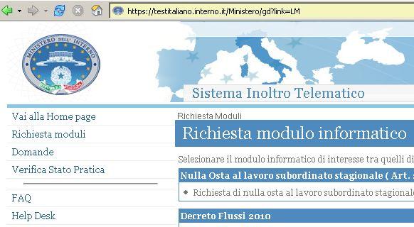 Awesome Esempio Test Italiano Per Carta Di Soggiorno Photos - Design ...